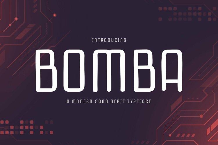 Web Font Bomba example image 1