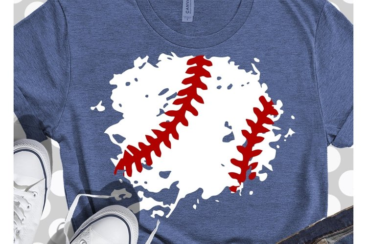 New Unique Grunge Splatter Baseball svg, baseball mom svg,