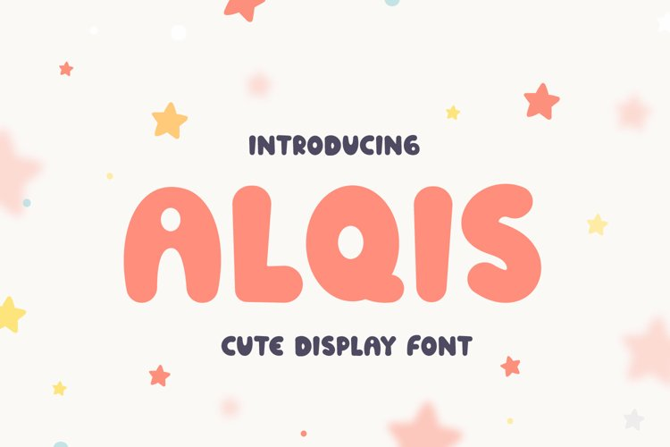 Alqis - Cute Display Font example image 1