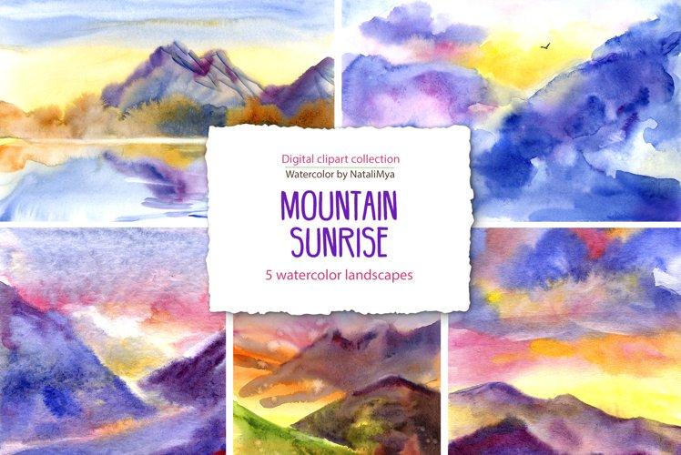 5 sunrise mountain landscapes example image 1