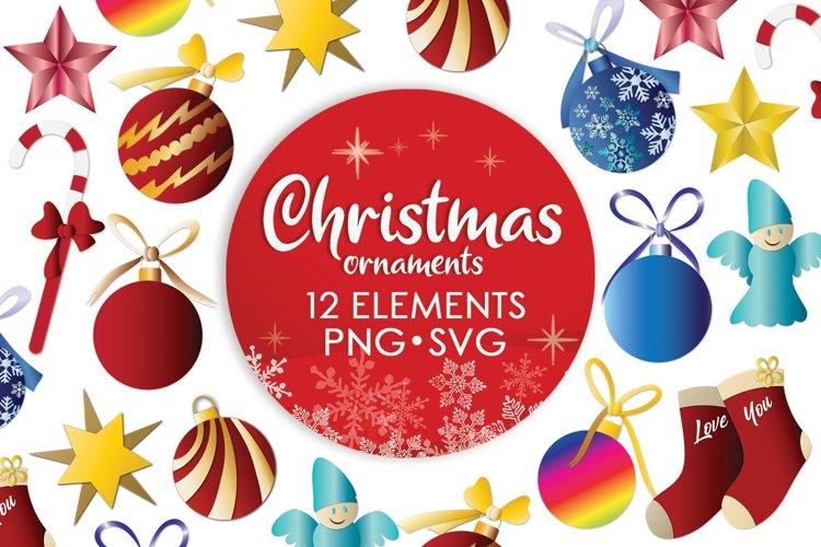 Ornament Svg, Christmas Svg Bundle, Angel Svg, Christmas Svg example image 1