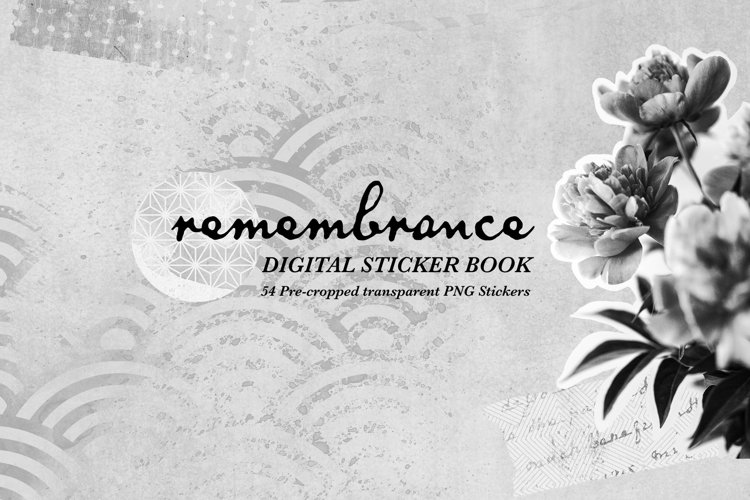 Remembrance - Digital Stickers