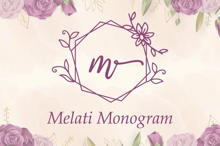 Melati Monogram