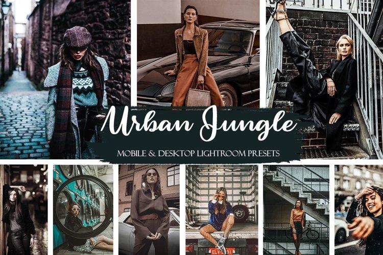 Urban Jungle Mobile & Desktop Presets | Street Style Presets example image 1