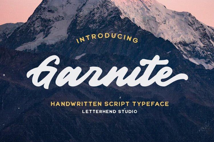 Garnite - Handwritten Script