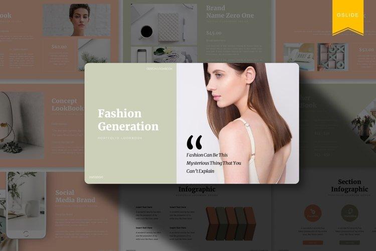Fashion Generation   Google Slides Template example image 1