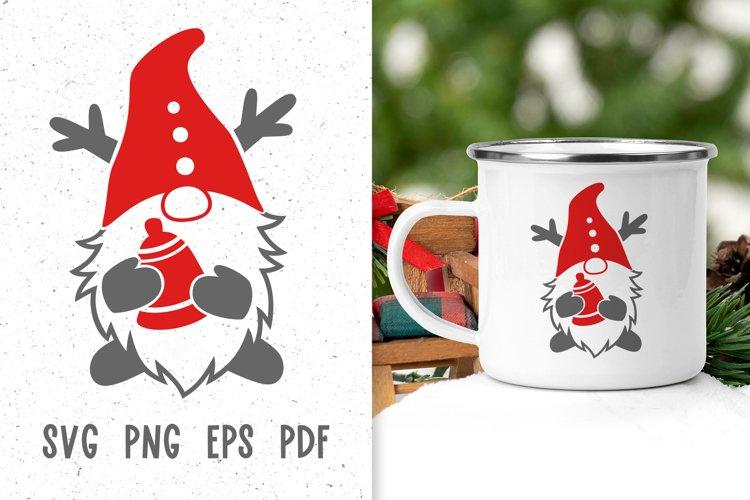 Christmas gnome svg files for cricut Christmas mug designs example image 1