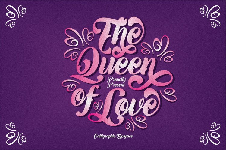 The Queen of Love example image 1
