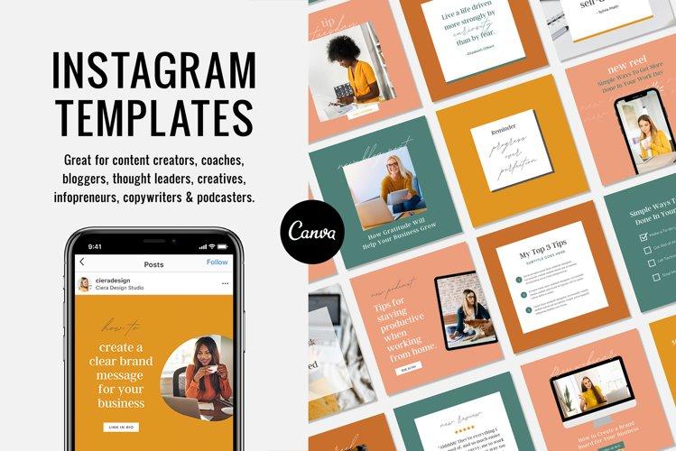 Instagram Canva Templates for Content Creators