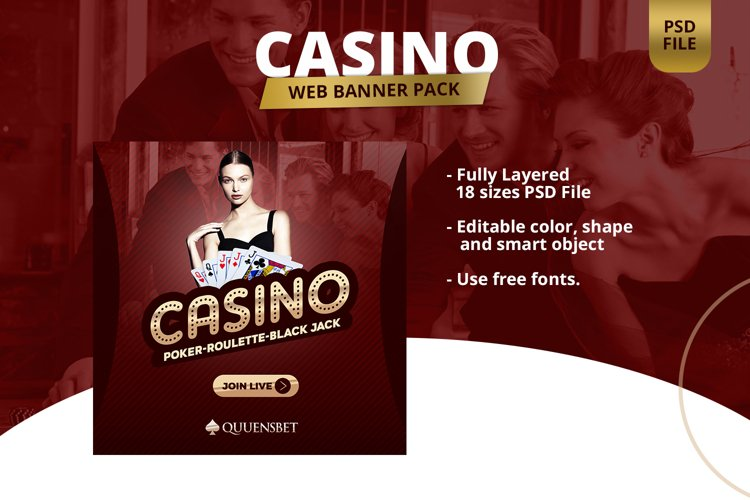 Casino App Banner Pack example image 1