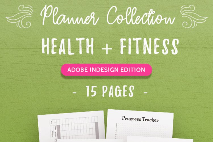 Health & Fitness InDesign Template Collection
