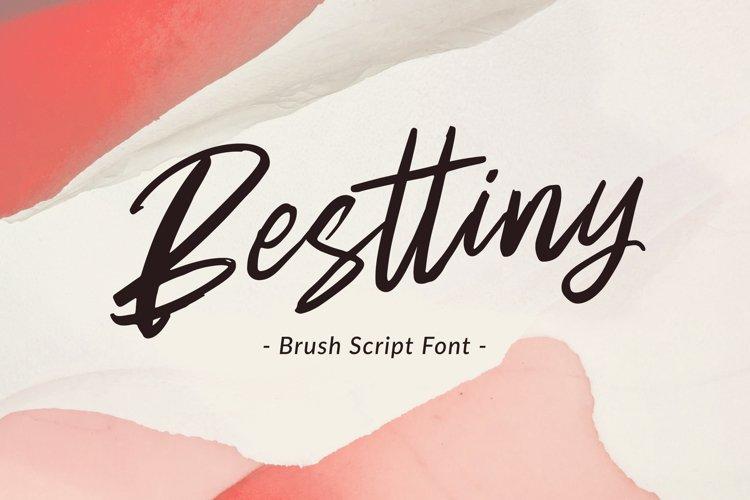 Besttiny - Brush Script example image 1