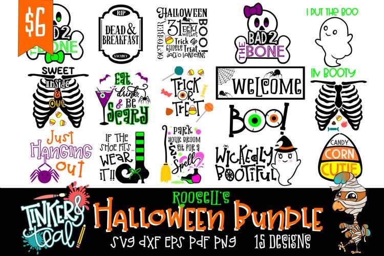 Roosells Halloween SVG Bundle example image 1