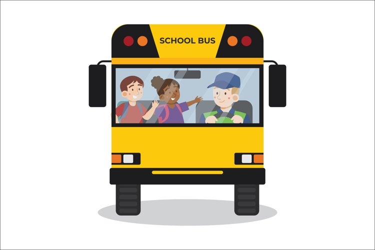 School Bus Illustrations