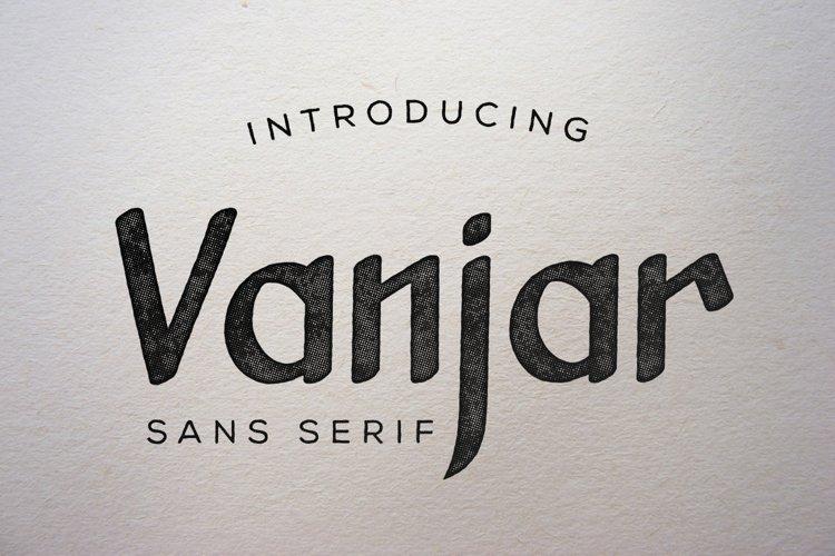 Vanjar - Sans Serif
