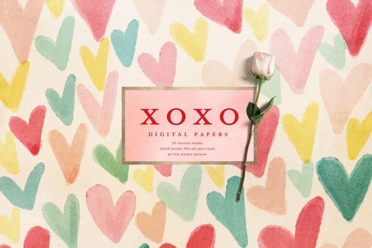 XOXO Digital Papers