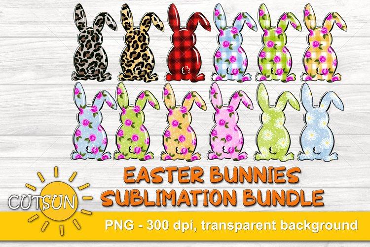 Easter Sublimation Bundle Easter Bunny