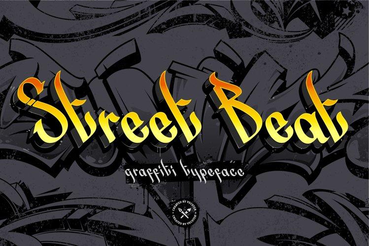 Street Beat Graffiti Typeface example image 1