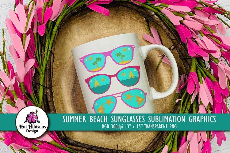 Summer Sublimation T-shirt Design   Beach Sublimation Design