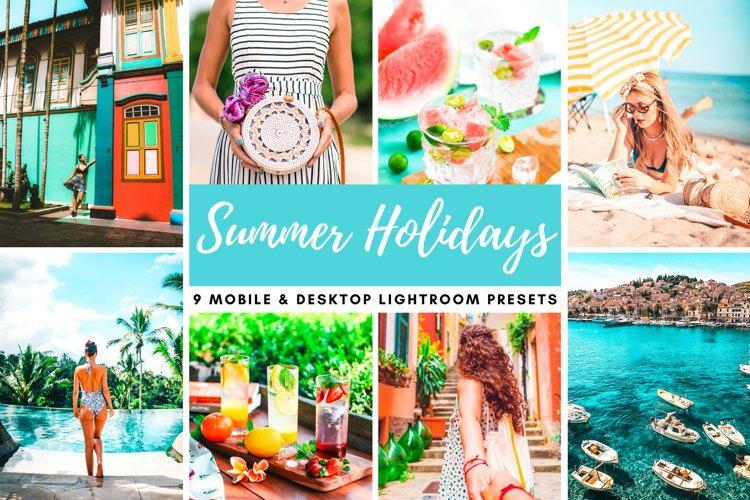 Summer Holidays Mobile & Desktop Lightroom Photo Presets