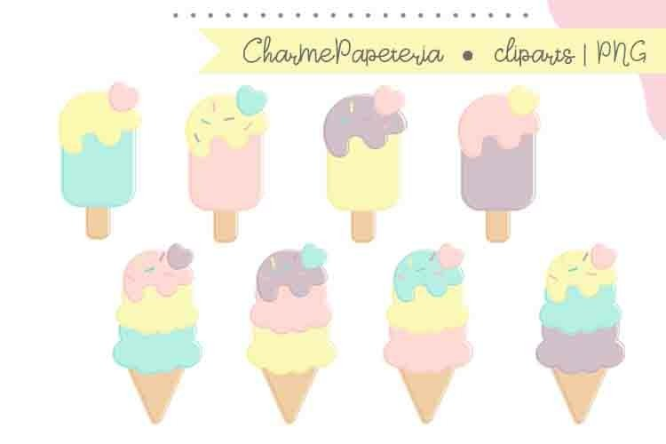 Ice Cream and Popsicle clipart