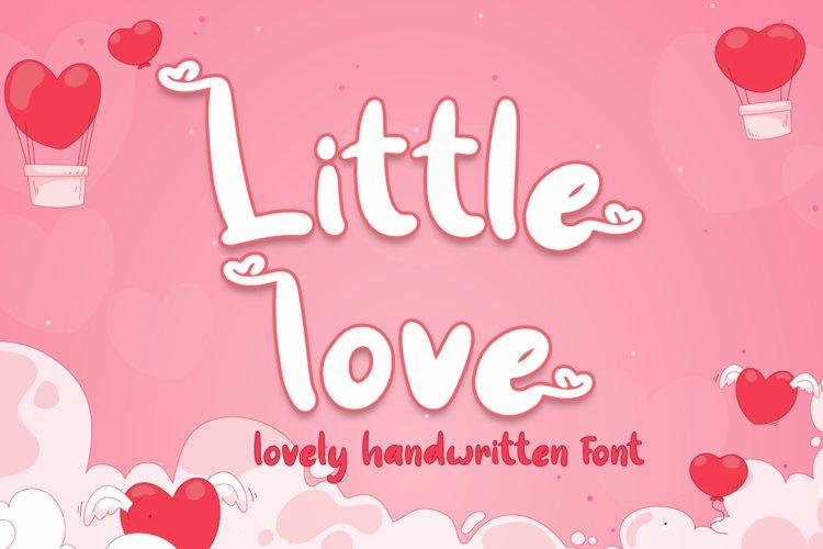 Little love - Lovely Font example image 1