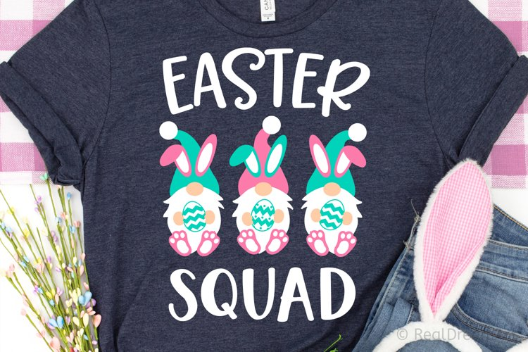 Easter Squad - Gnomes SVG, DXF, PNG, EPS