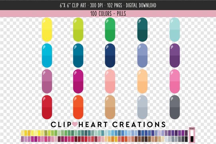 Pills Clip Art - 100 Clip Art Graphics example image 1