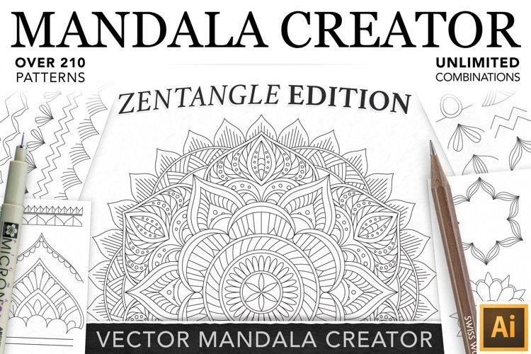 Zentangle Mandala Creator Addon for Illustrator