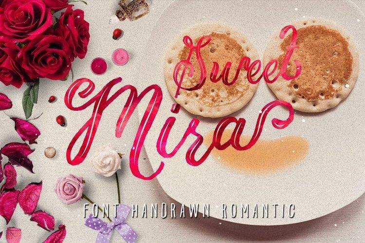 Mira & graphic watercolor & swirls example image 1