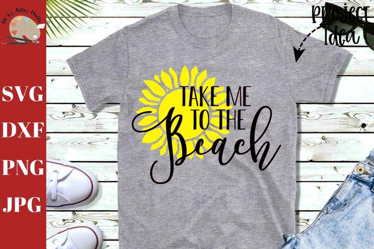 Take me to the beach svg, summer beach shirt svg