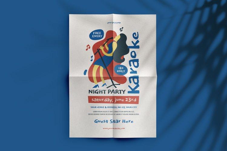 Karaoke Night Party Flyer