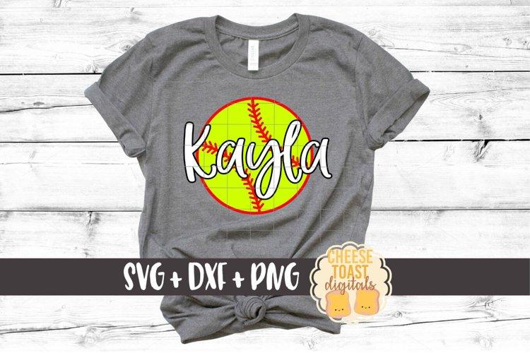 Softball - Softball SVG File example image 1