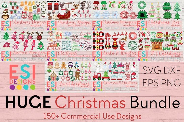 Christmas Bundle | SVG DXF EPS & PNG example image 1