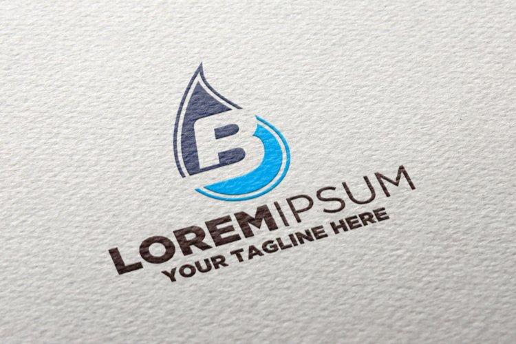 Letter B Gass Oil Logo example image 1