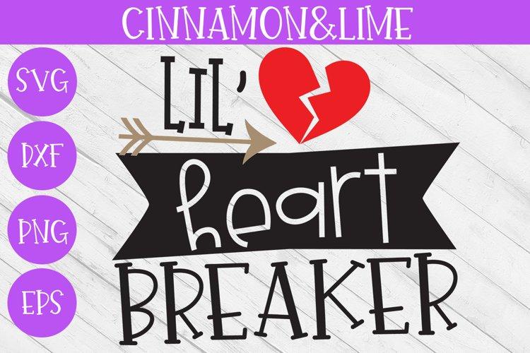 Valentines Day SVG - Lil Heart Breaker