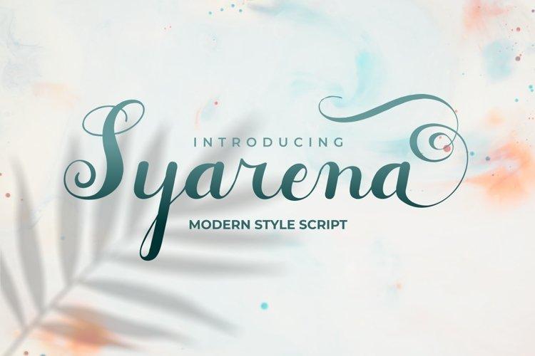 Syarena example image 1
