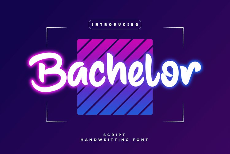 Bachelor example image 1