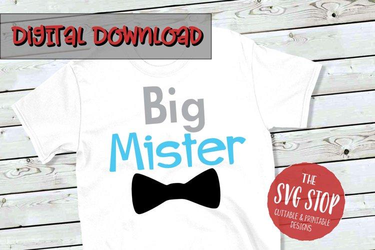Big Mister Bowtie -SVG, PNG, DXF