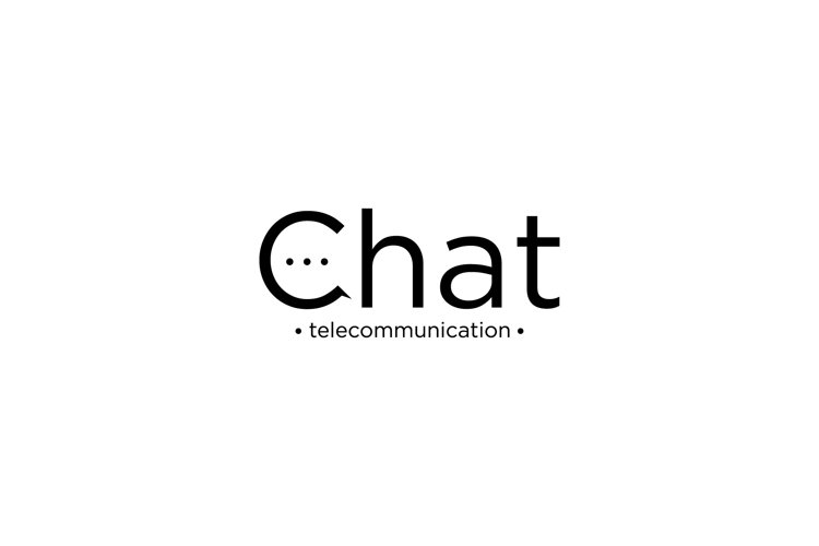 Chat Logo Design example image 1
