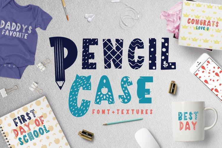 Pencil Case - Scandinavian kids font example image 1