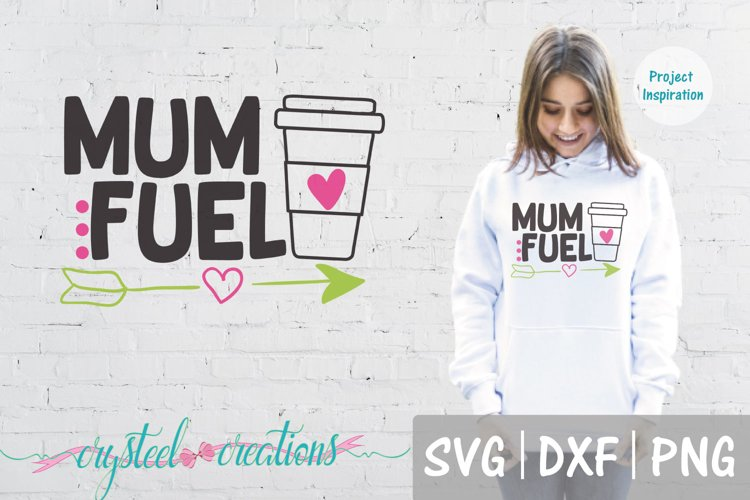 Mum Fuel SVG, DXF, PNG example image 1