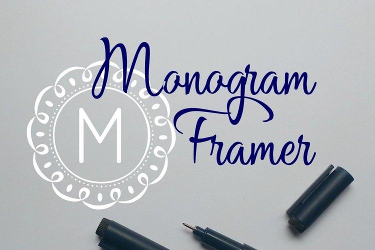 Monogram Framer example image 1