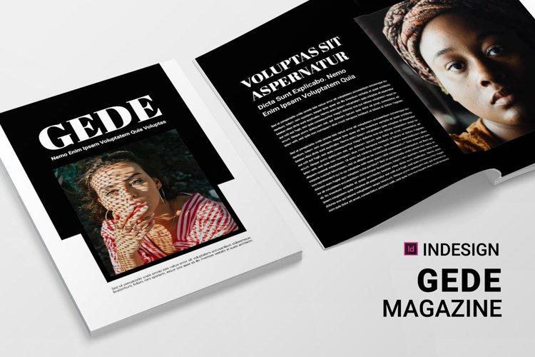 Gede | Magazine example image 1