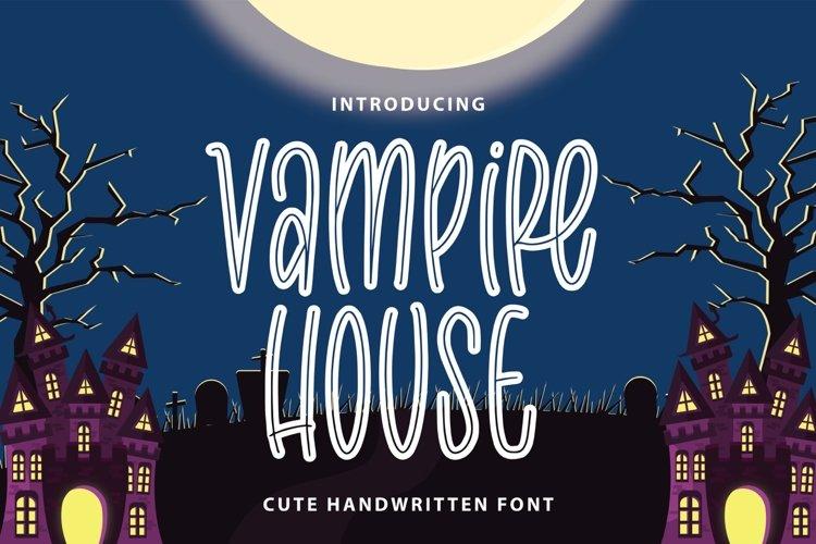Vampire House example image 1