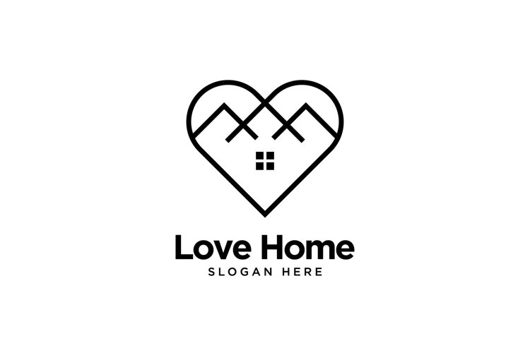 Love Home Logo example image 1