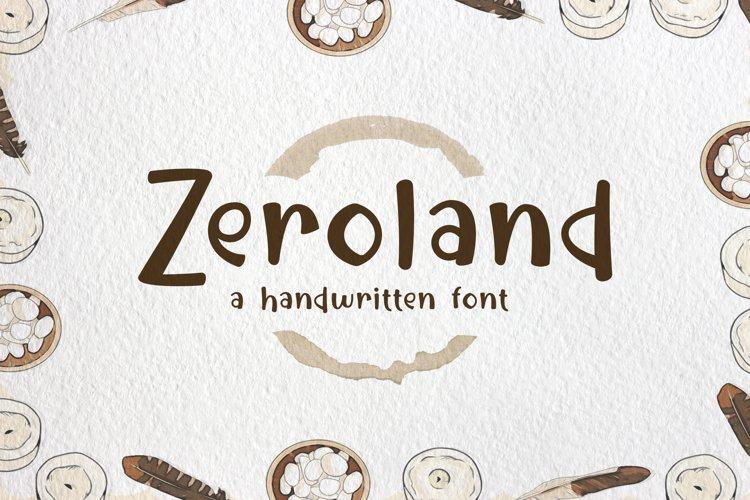Zeroland example image 1