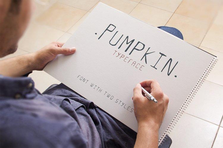 Pumpkin Script Typeface example image 1