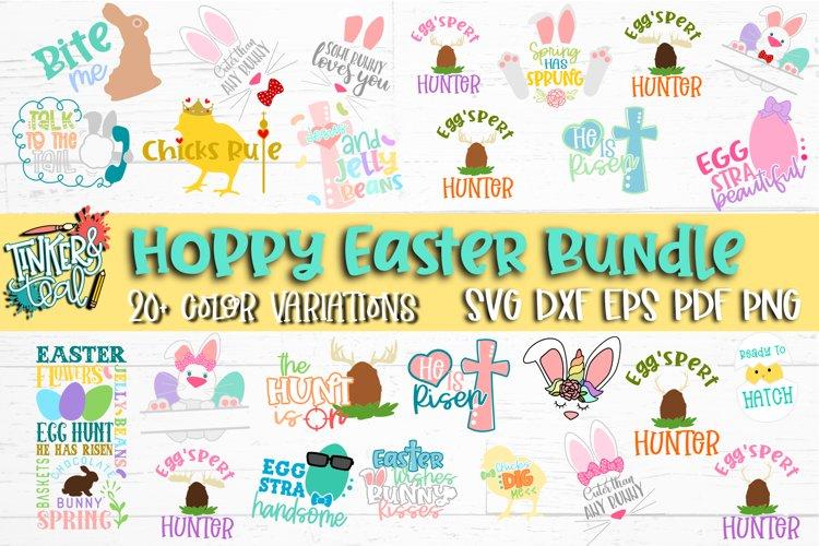Hoppy Easter SVG Bundle