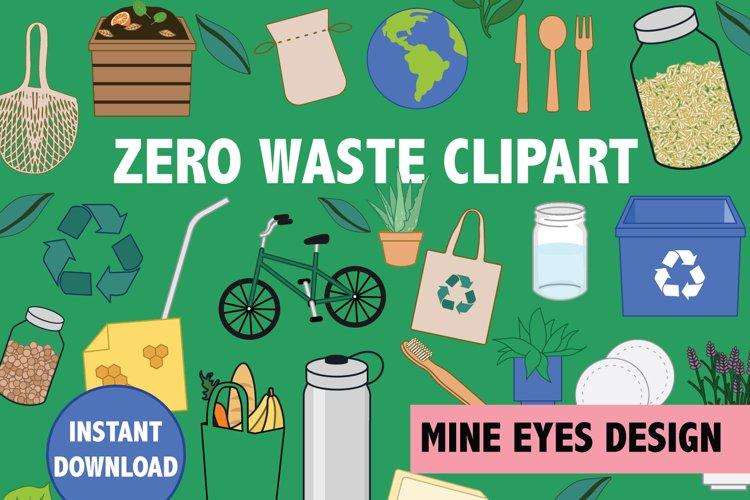 Zero Waste Clip art